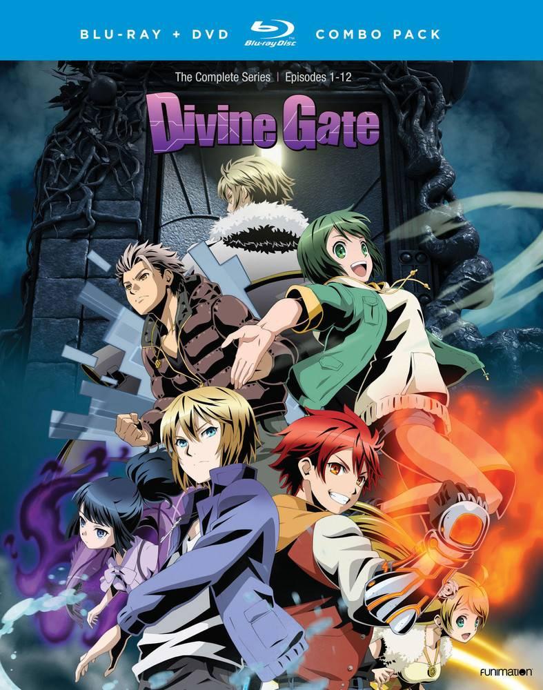 Funimation Entertainment Divine Gate Blu-Ray/DVD
