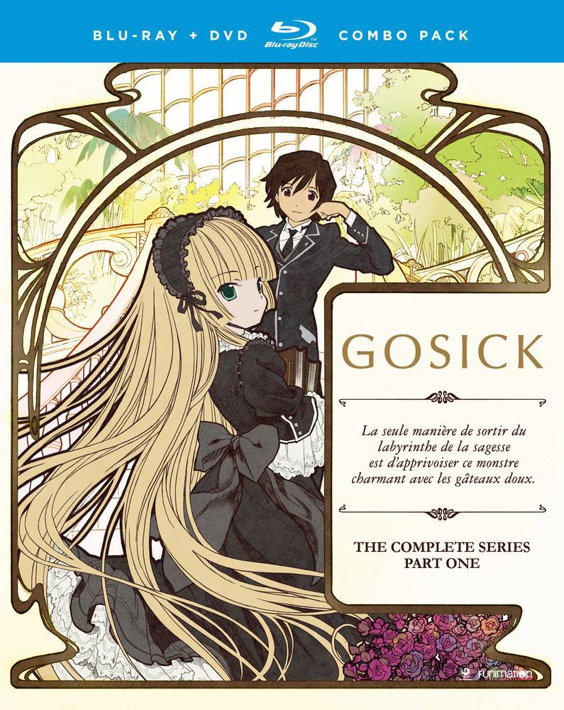 Funimation Entertainment Gosick Complete Series Part 1 Blu-Ray/DVD