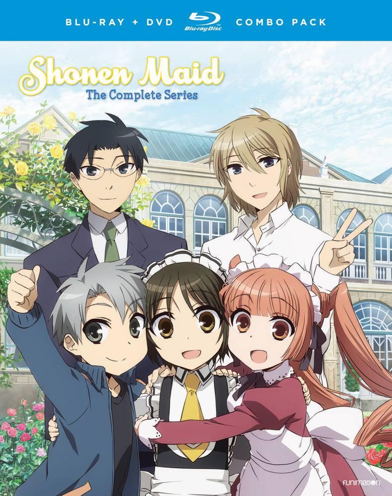 Funimation Entertainment Shonen Maid Complete Series Blu-Ray/DVD