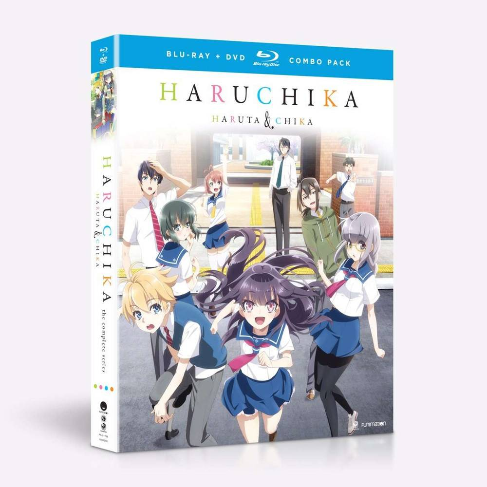 Funimation Entertainment Haruchika Complete Series Blu-Ray/DVD