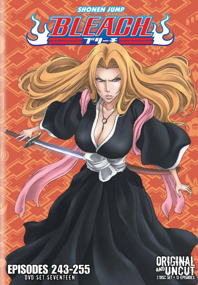 Viz Media Bleach Uncut Set 17 (Eps 243-255) DVD
