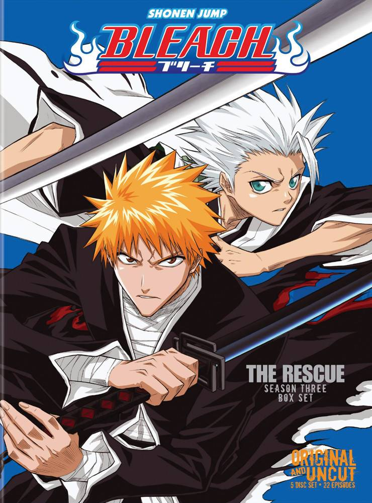 Viz Media Bleach Uncut Set 3 (Eps 42-63) DVD