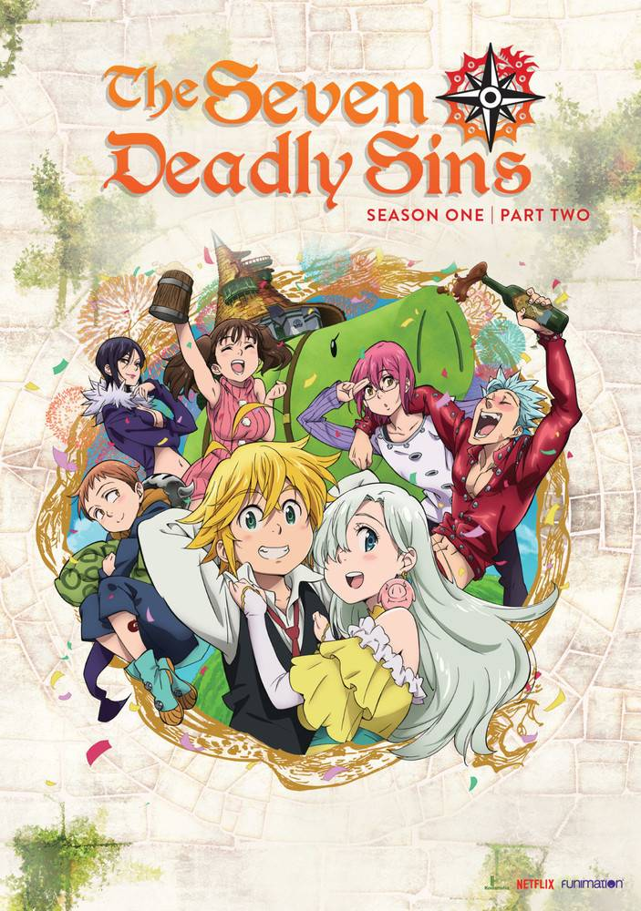 Funimation Entertainment Seven Deadly Sins, The Season 1 Part 2 DVD