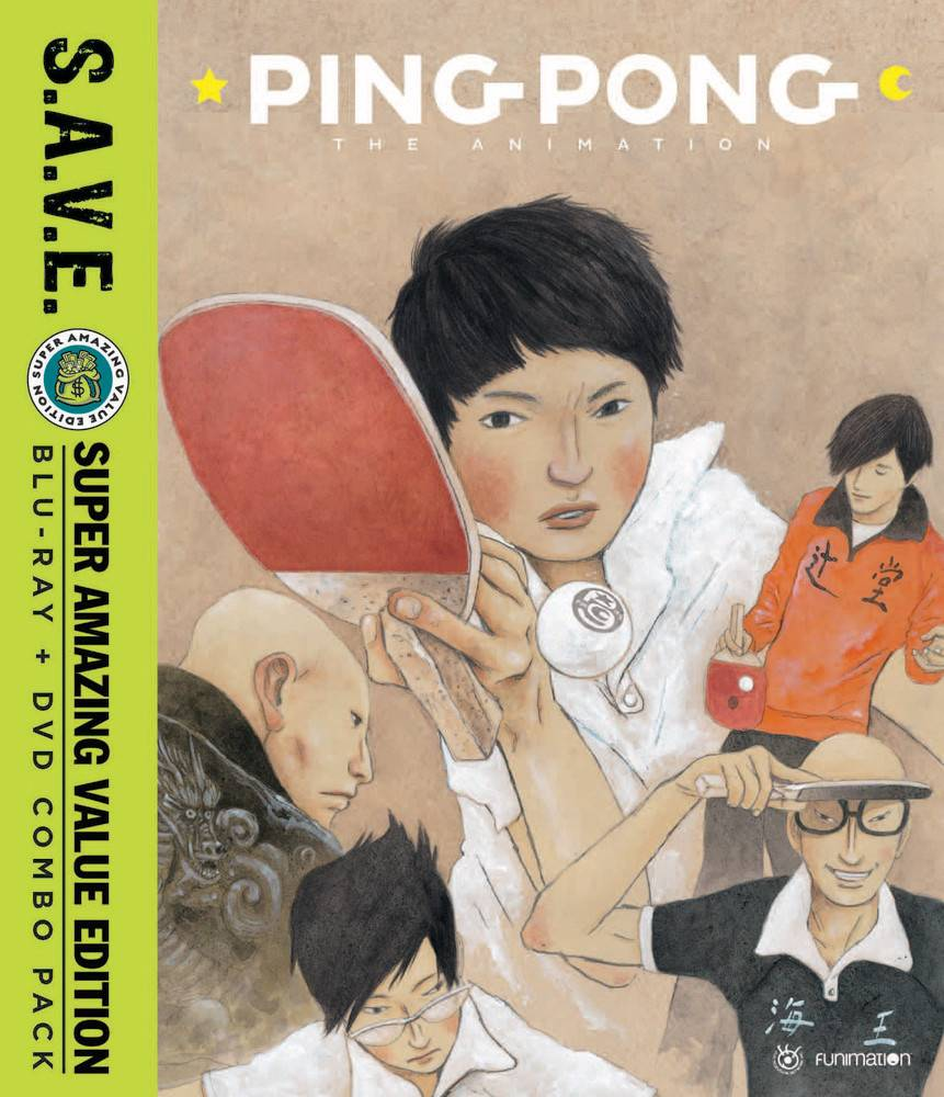 Funimation Entertainment Ping Pong the Animation (S.A.V.E. Edition) Blu-Ray/DVD