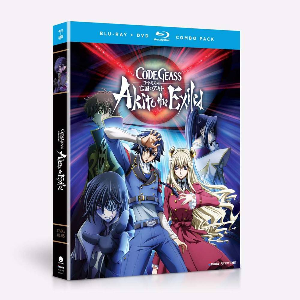 Funimation Entertainment Code Geass: Akito the Exiled Blu-Ray/DVD