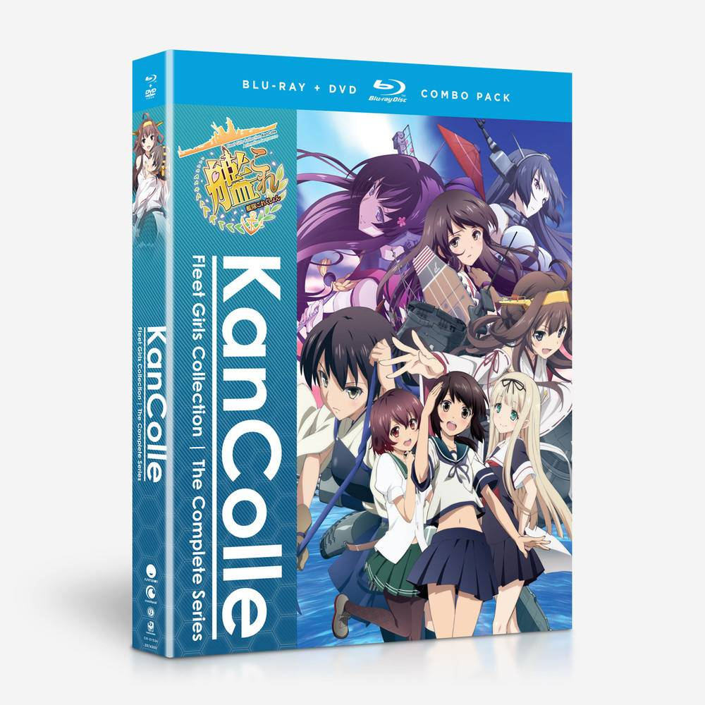 Funimation Entertainment Kancolle: Kantai Collection Blu-Ray/DVD