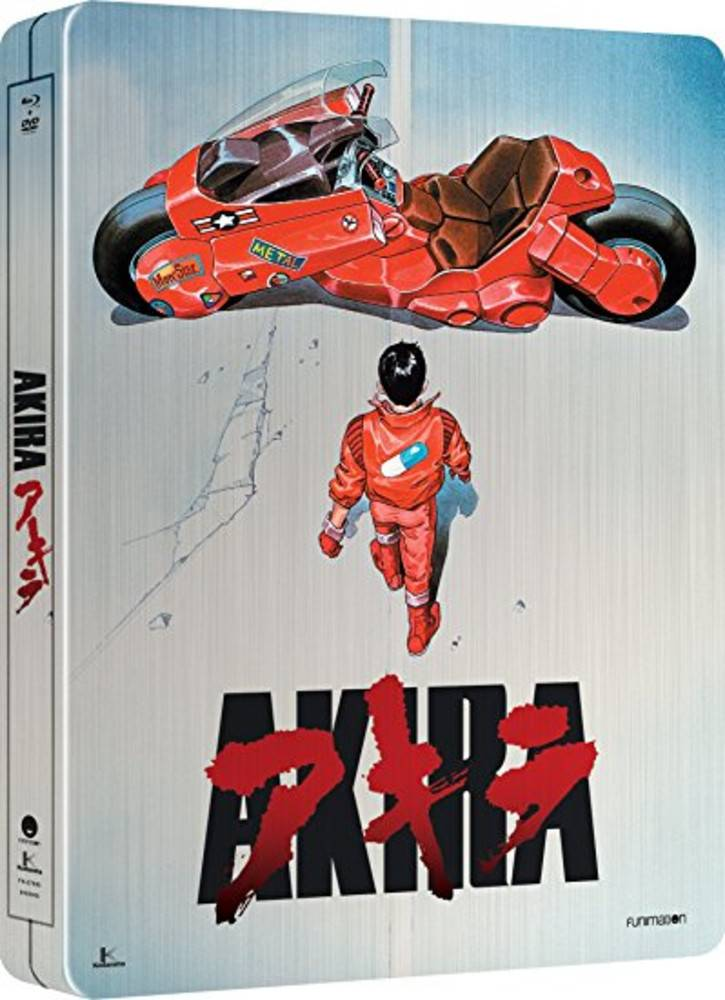 Funimation Entertainment Akira Collectors Edition Blu-Ray/DVD