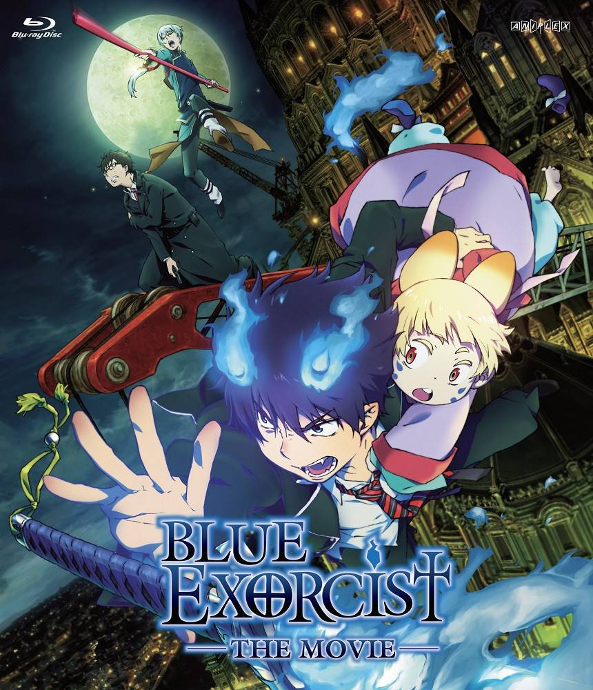 Aniplex of America Inc Blue Exorcist The Movie Blu-ray