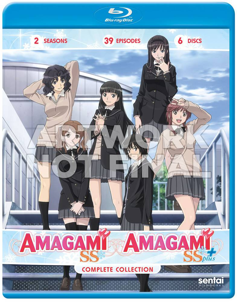 Sentai Filmworks Amagami SS & SS+ Complete Collection Blu-Ray