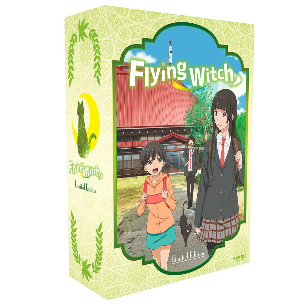 Sentai Filmworks Flying Witch Premium Edition Blu-Ray/DVD