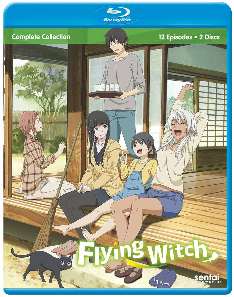 Sentai Filmworks Flying Witch Blu-Ray