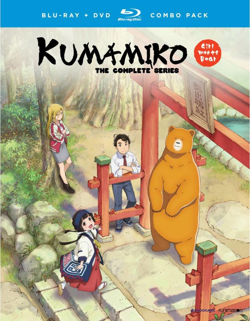 Funimation Entertainment Kumamiko Girl Meet Bear Blu-Ray/DVD