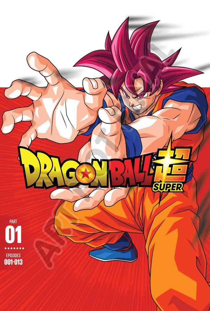 Funimation Entertainment Dragon Ball Super Part 1 DVD