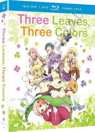 Funimation Entertainment Three Leaves, Three Colors Blu-Ray/DVD*