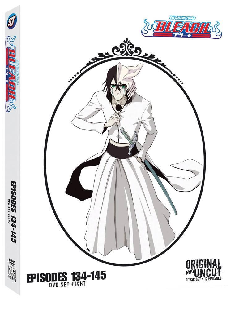 Viz Media Bleach Uncut Set 8 (Eps 134-145) DVD