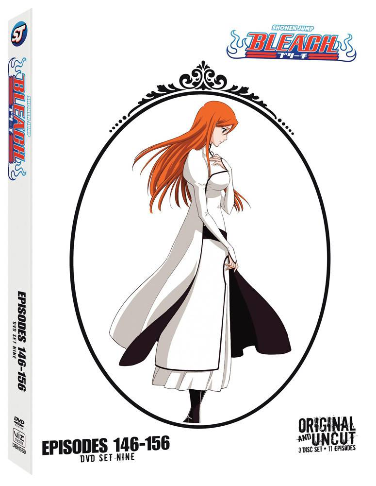 Viz Media Bleach Uncut Set 9 (Eps 146-156) DVD