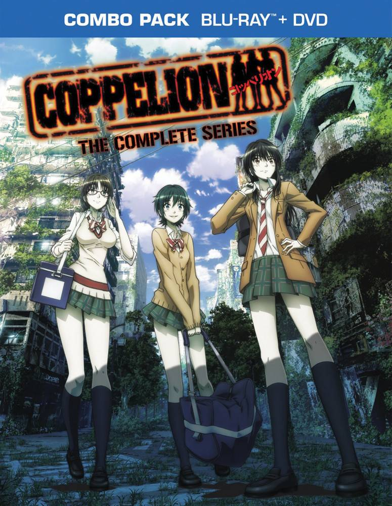 Viz Media Coppelion Complete Series Blu-Ray/DVD