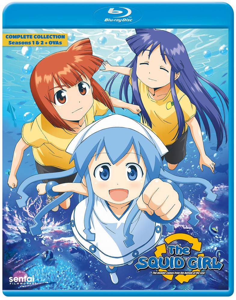 Sentai Filmworks Squid Girl Complete Collection Blu-Ray