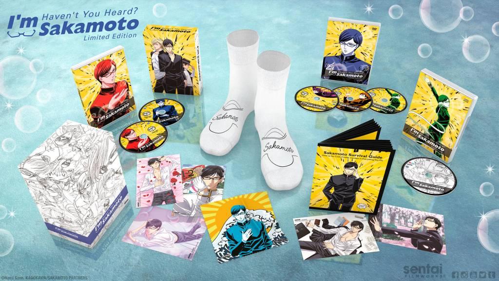 Sentai Filmworks Haven't You Heard? I'm Sakamoto Premium Edition