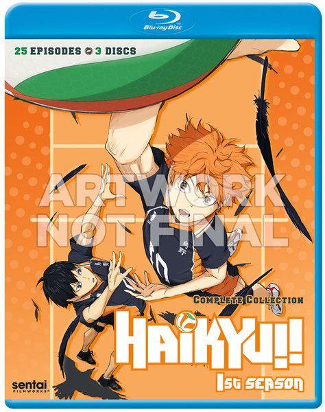 Sentai Filmworks Haikyu!! Complete Season 1 Blu-Ray
