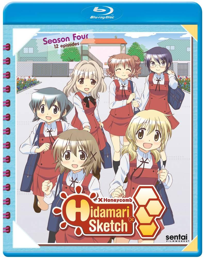 Sentai Filmworks Hidamari Sketch Honeycomb (Season 4) Blu-Ray