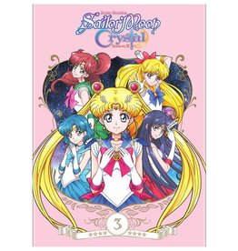 Viz Media Sailor Moon Crystal Set 3 DVD