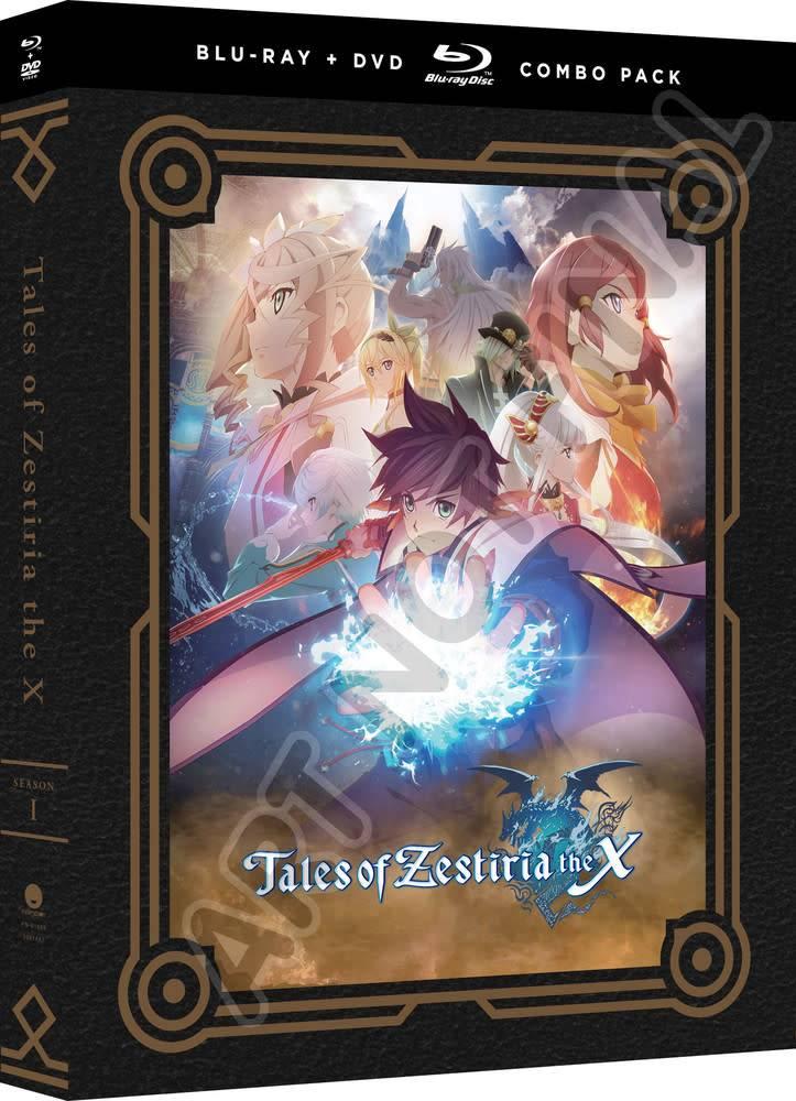 Funimation Entertainment Tales Of Zestiria the X Season 1 Blu-Ray/DVD