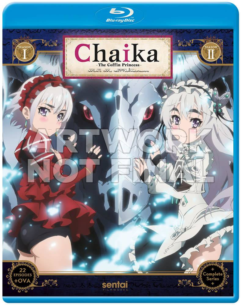 Sentai Filmworks Chaika the Coffin Princess Complete Series Blu-Ray