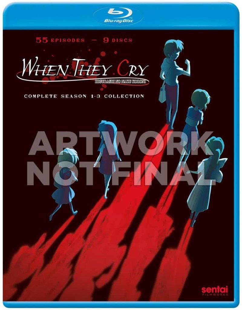 Sentai Filmworks Higurashi - When They Cry Complete Series Blu-Ray