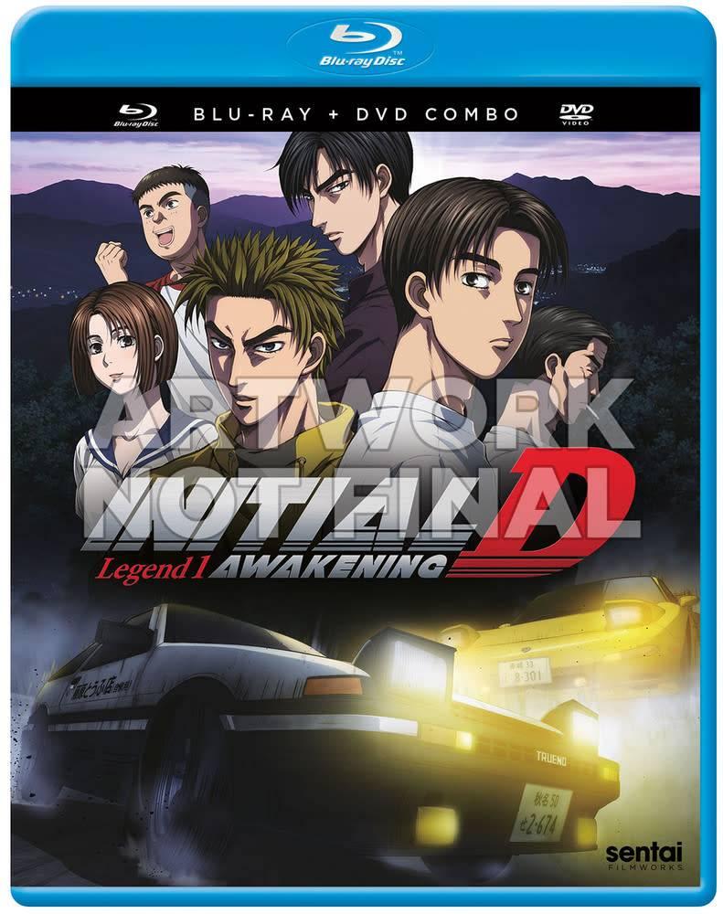 Sentai Filmworks Initial D Legend 1 Awakening Blu-Ray/DVD