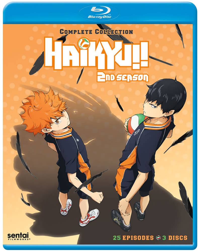Sentai Filmworks Haikyu!! Complete Season 2 Blu-Ray