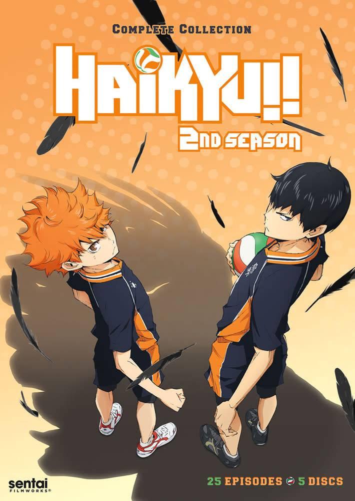 Sentai Filmworks Haikyu!! Complete Season 2 DVD