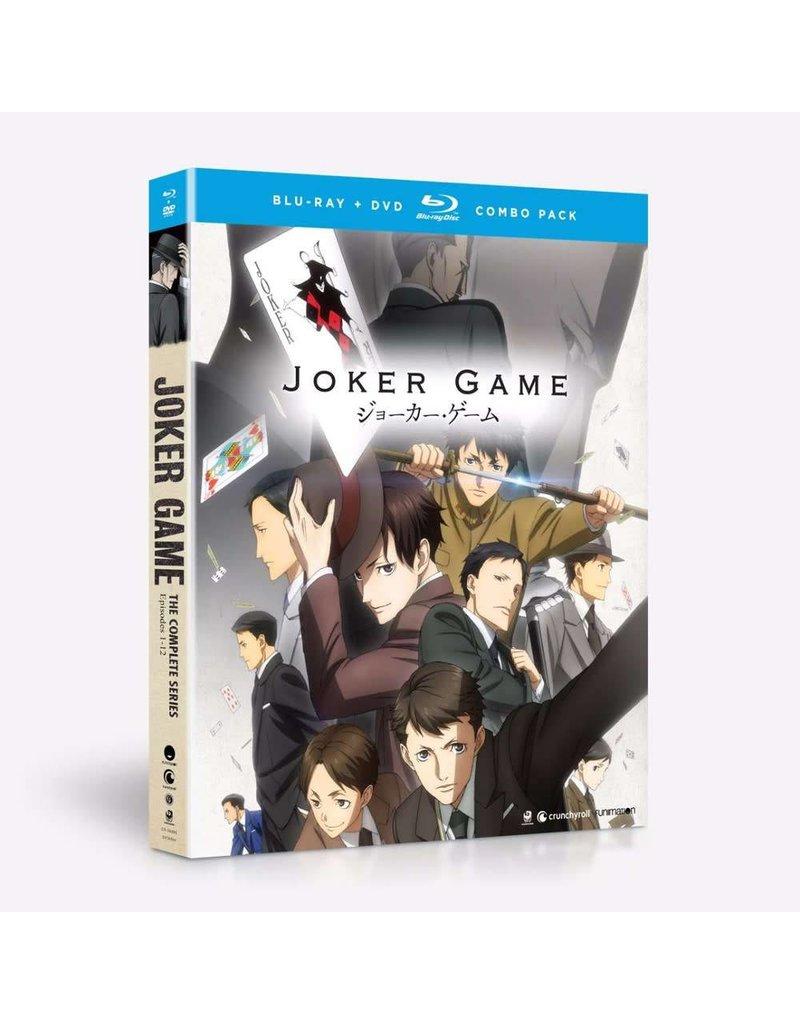 Funimation Entertainment Joker Game Blu-Ray/DVD