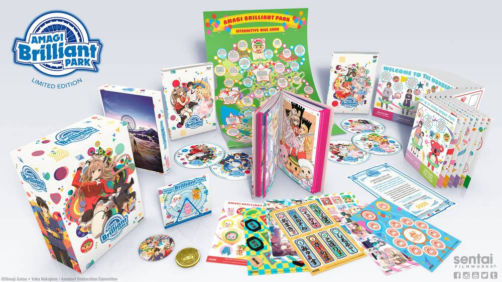 Sentai Filmworks Amagi Brilliant Park Premium Edition Blu-Ray/DVD