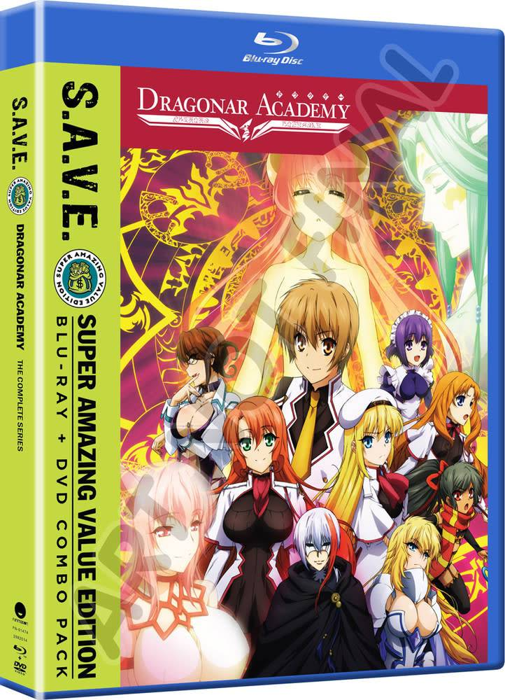 Funimation Entertainment Dragonar Academy (S.A.V.E. Edition) Blu-Ray/DVD