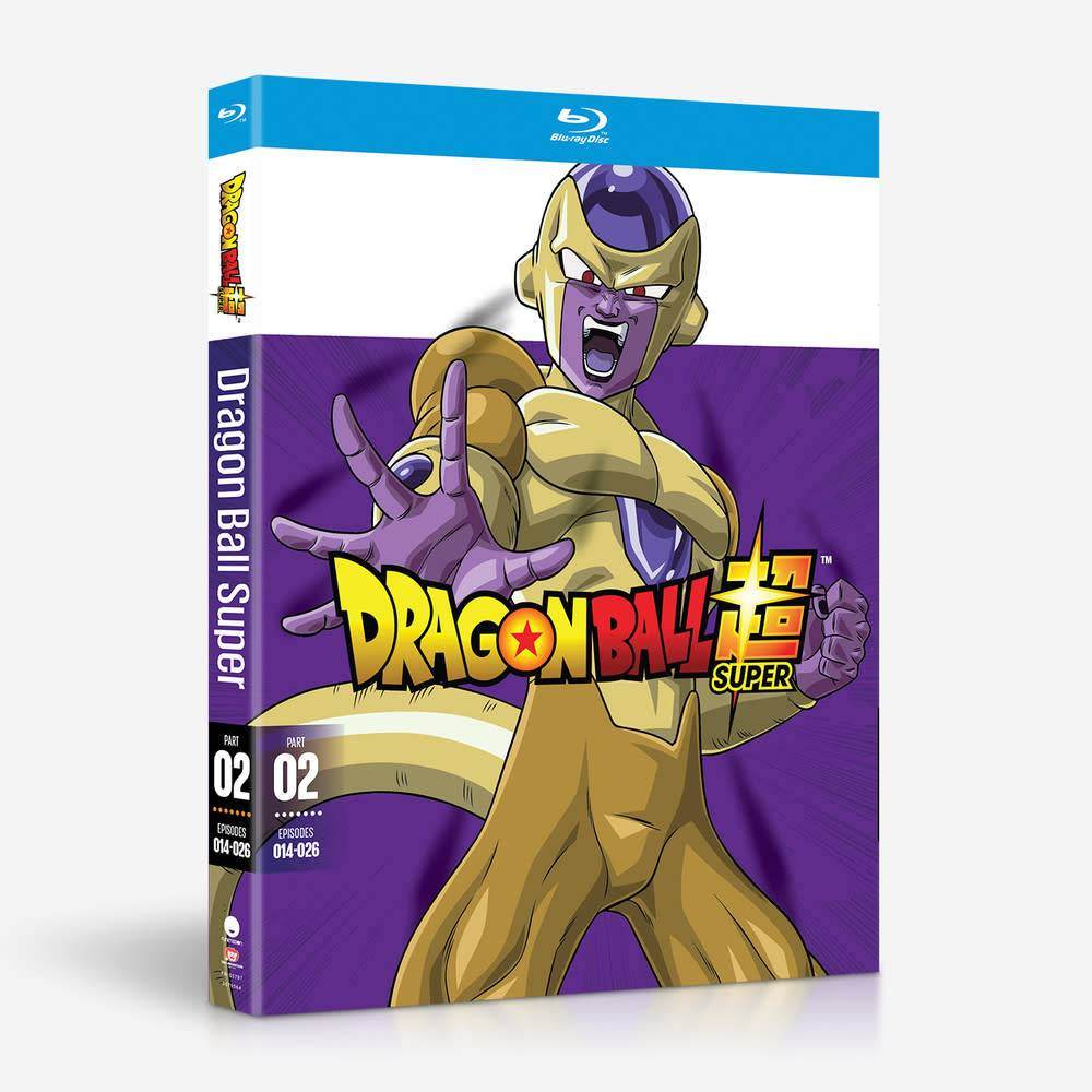 Funimation Entertainment Dragon Ball Super Part 2 Blu-Ray
