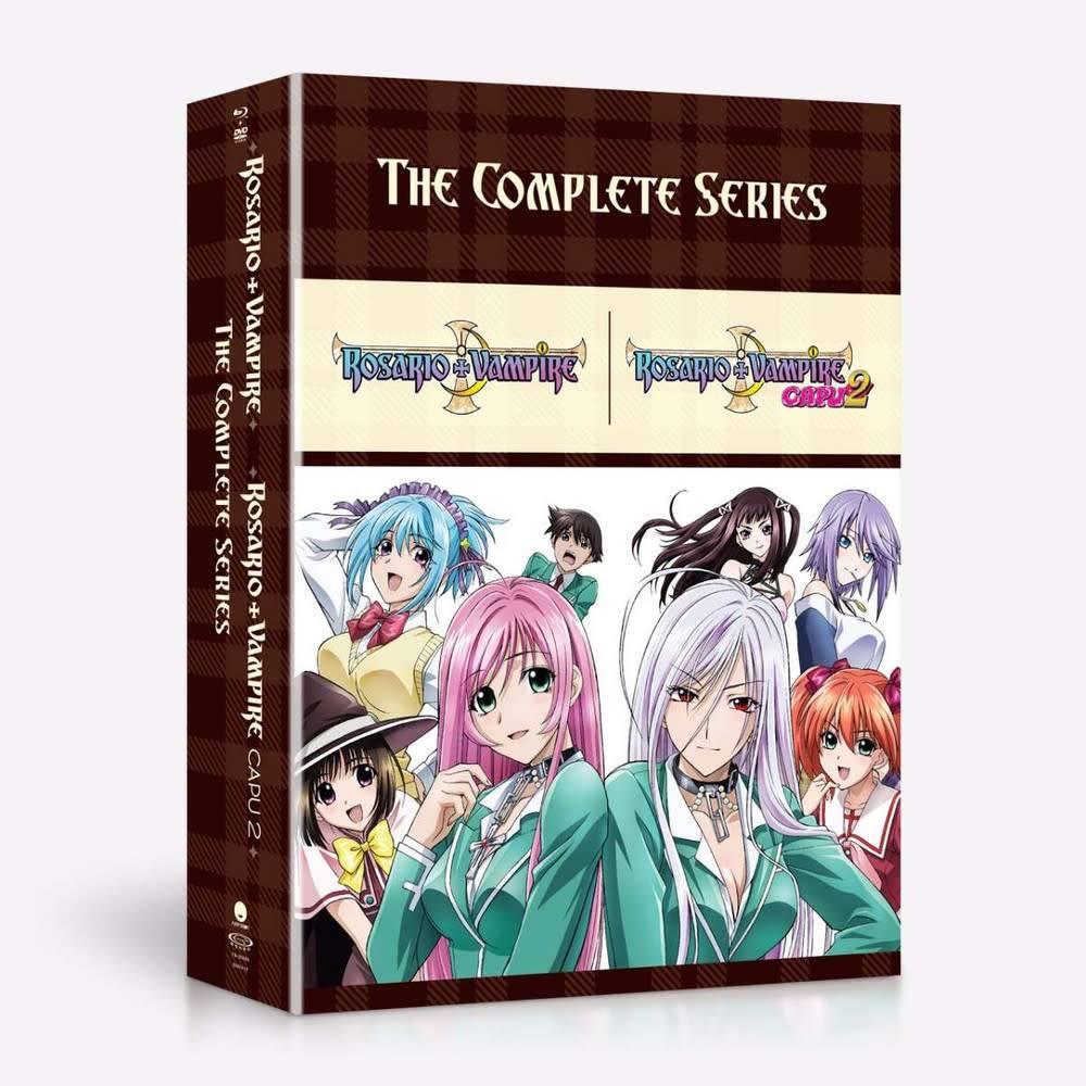 Funimation Entertainment Rosario+Vampire Complete Series Blu-Ray/DVD