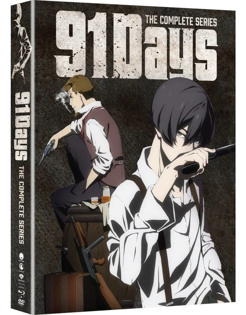 Funimation Entertainment 91 Days Blu-Ray/DVD LE