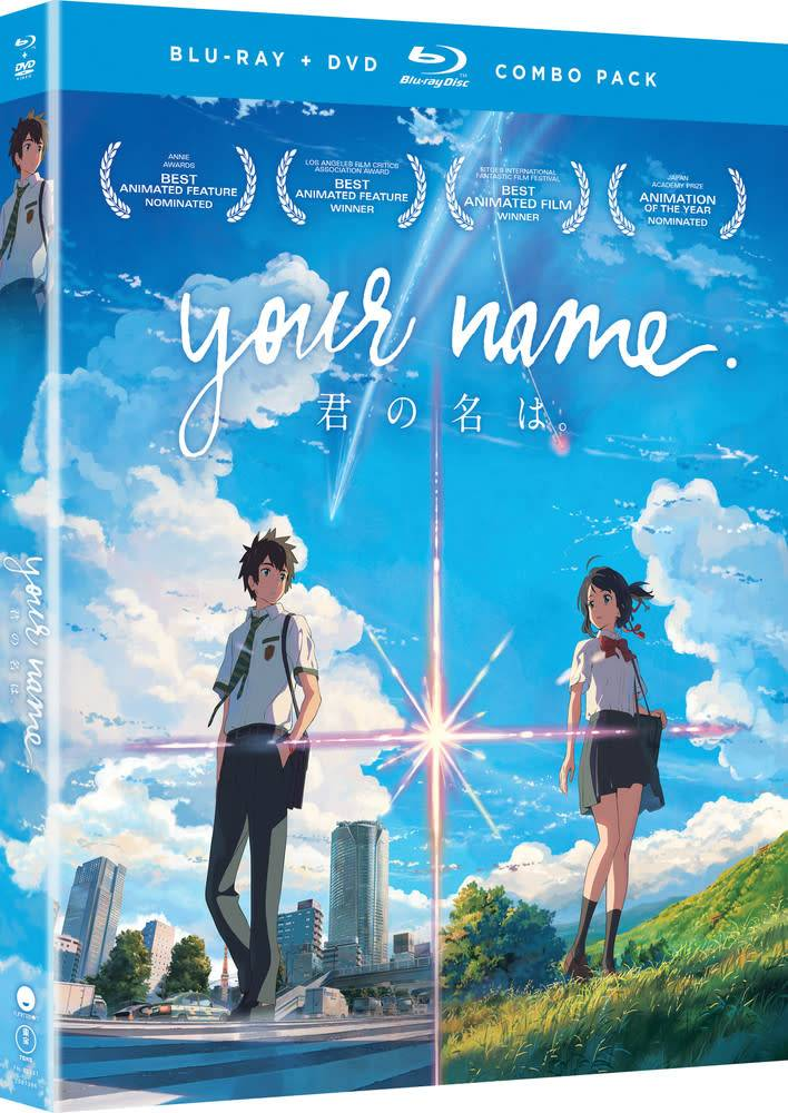 Funimation Entertainment Your Name Blu-Ray/DVD