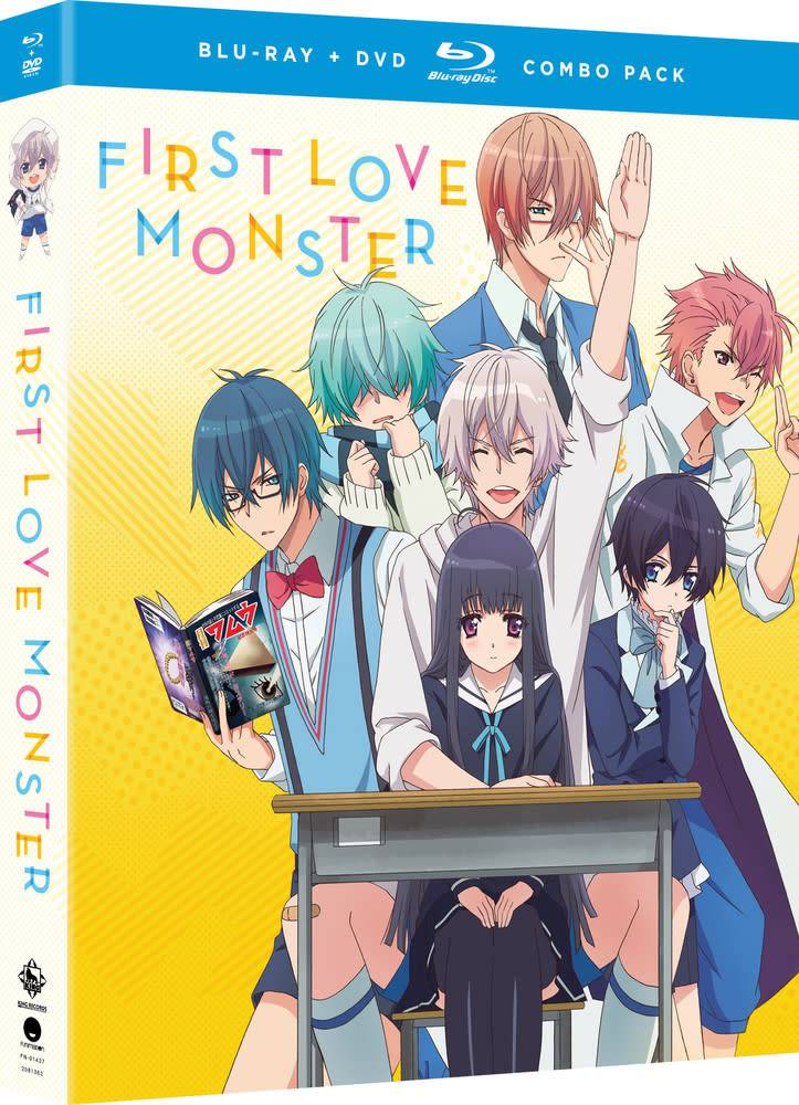 Funimation Entertainment First Love Monster Blu-Ray/DVD *