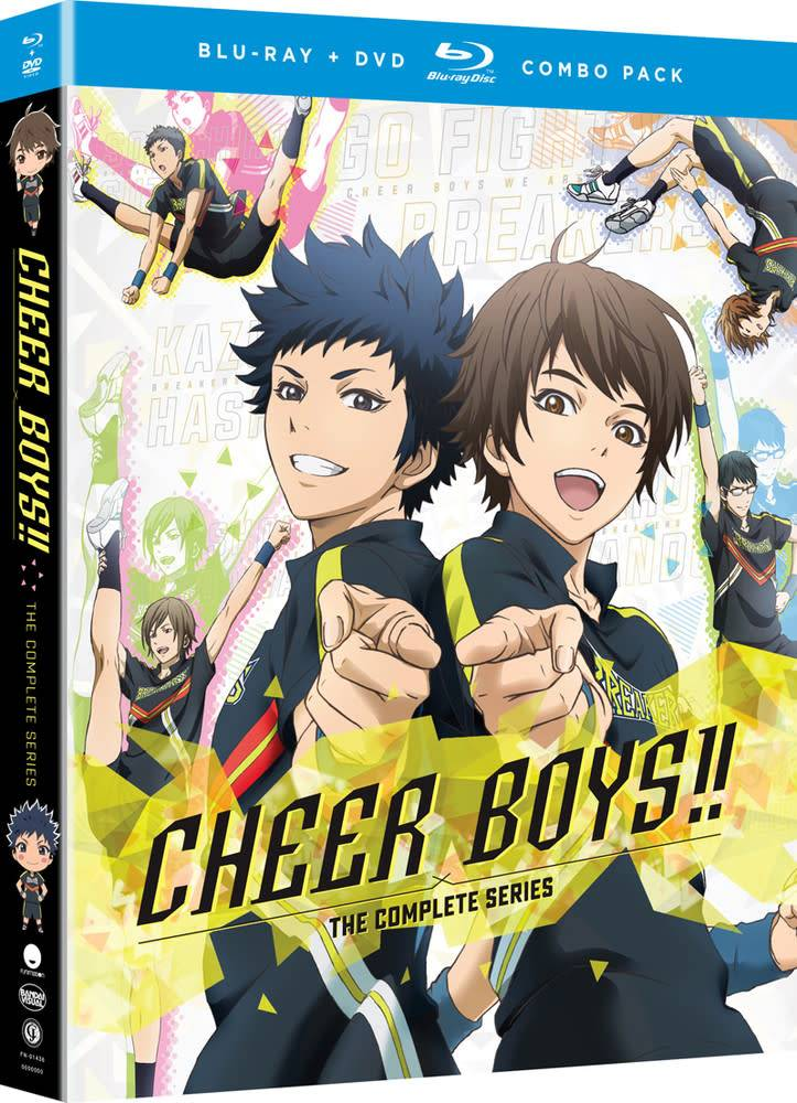 Funimation Entertainment Cheer Boys!! Blu-Ray/DVD