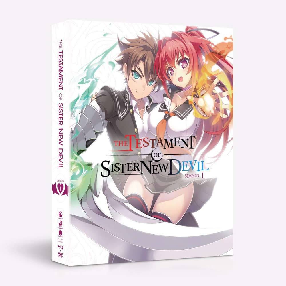 Funimation Entertainment Testament of Sister New Devil Season 1 + OVA LE