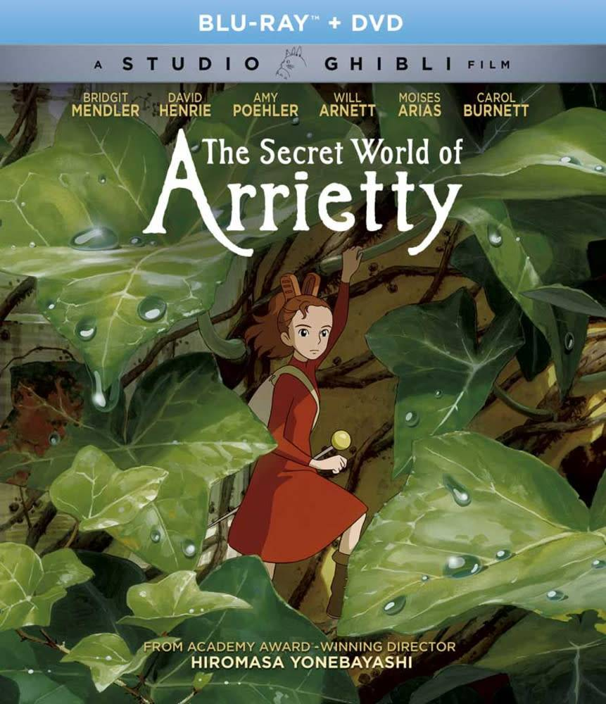 Studio Ghibli/GKids Secret World of Arrietty,The BD/DVD (GKids)