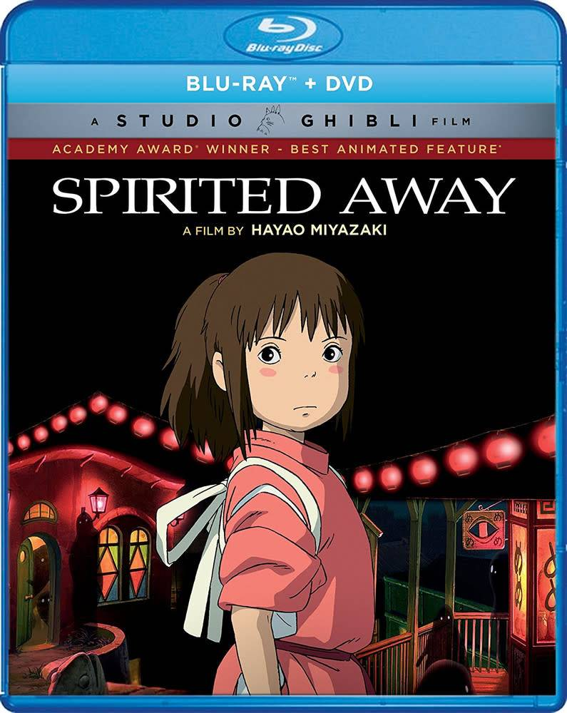 Studio Ghibli/GKids Spirited Away Blu-Ray/DVD (GKids)