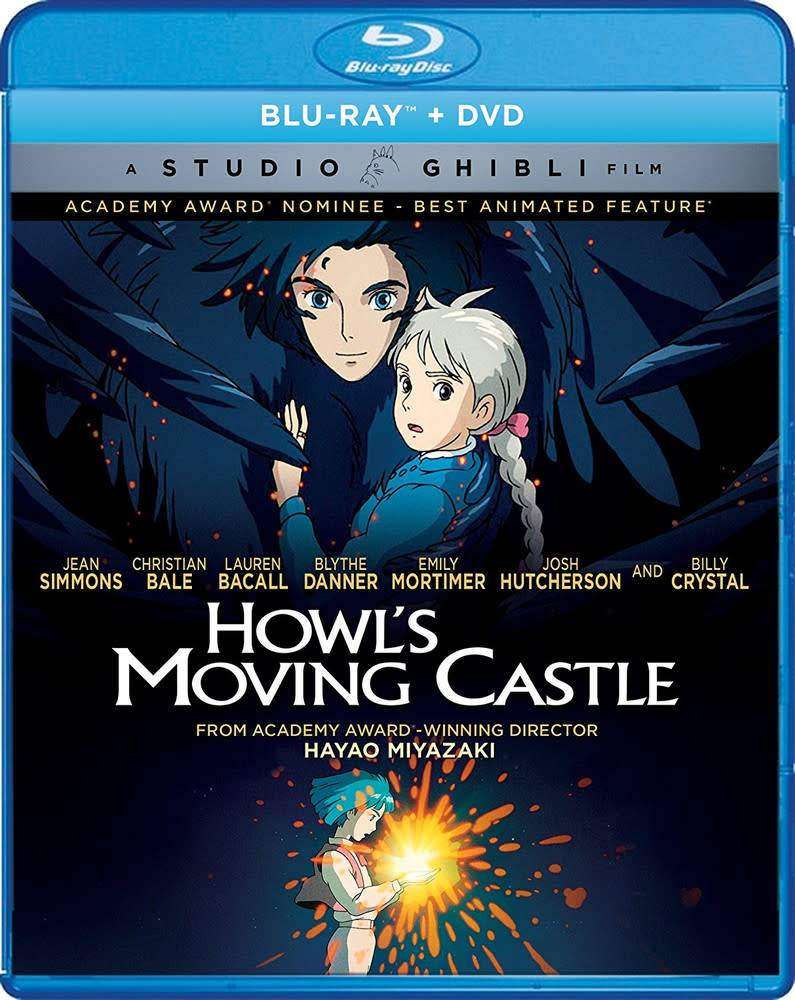 Studio Ghibli/GKids Howl's Moving Castle BD/DVD (GKids)