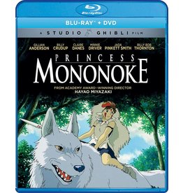Studio Ghibli/GKids Princess Mononoke Blu-Ray/DVD (GKids)