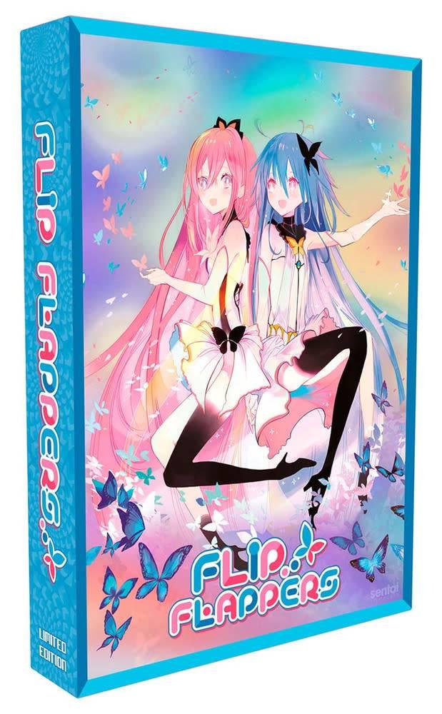 Sentai Filmworks Flip Flappers! Blu-Ray Premium Edition