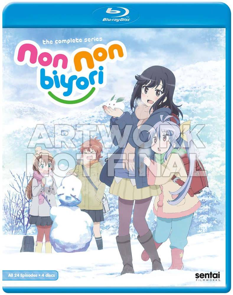Sentai Filmworks Non Non Biyori Complete Series (S1/S2) Blu-Ray