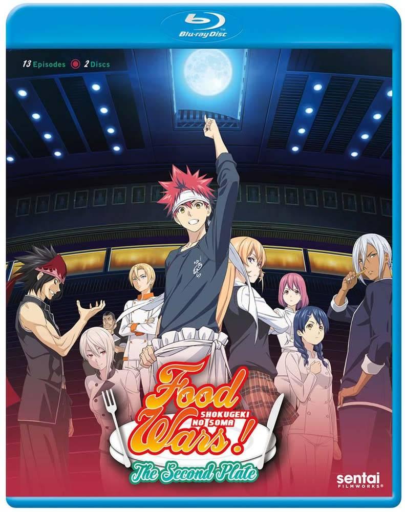 Sentai Filmworks Food Wars! The Second Plate (Season 2) Blu-Ray