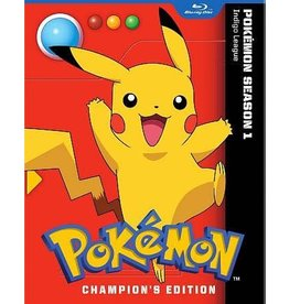 Viz Media Pokemon Indigo League Champion's Edition (Season 1) Blu-Ray
